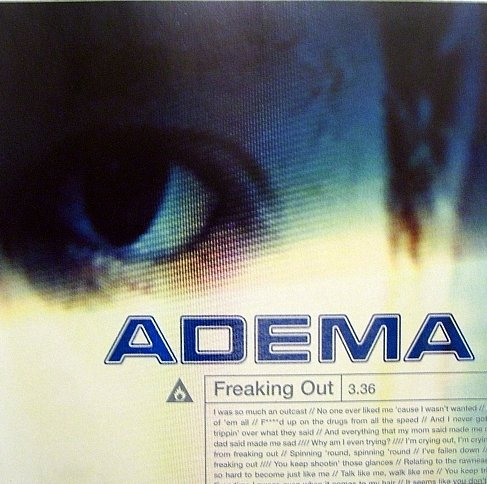 Adema - Freaking Out Promo Disc