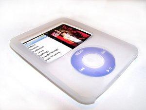 Silicone iPod Nano Case/Skin for 3rd Generation (White)