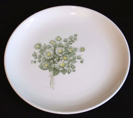 TAYLOR SMITH & TAYLOR Bread Plate SUMMER SHOWERS