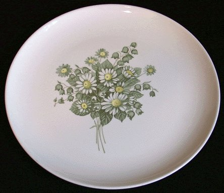 Vintage TAYLOR SMITH & TAYLOR Dinner Plate SUMMER SHOWERS