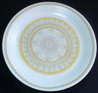 Vintage FRANCISCAN Dinner Plate HACIENDA GOLD