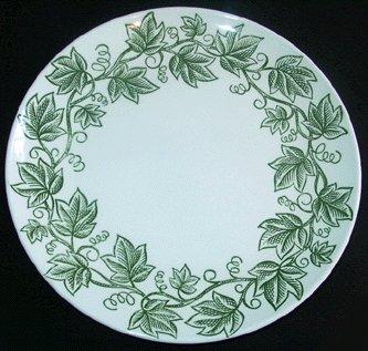 MOUNT CLEMENS Ivy design circa 1960s DINNER PLATE