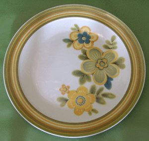 NORITAKE Expression CHESTNUTHILL Dinner Plate MOD -A Chestnut Hill