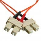 13.1ft Fiber Optic Cable, SC / SC, Multimode, Duplex, 62.5/125, 4 meter SCSC-11104