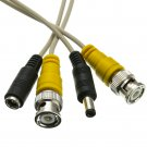 50ft BNC Video Cable with DC Power Cable, BNC Male, Male to Female Power 10B1-02150