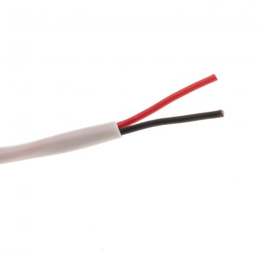 100ft Speaker Cable, White, Pure Copper, CM / Inwall rated, 16/2   10G2-291HD