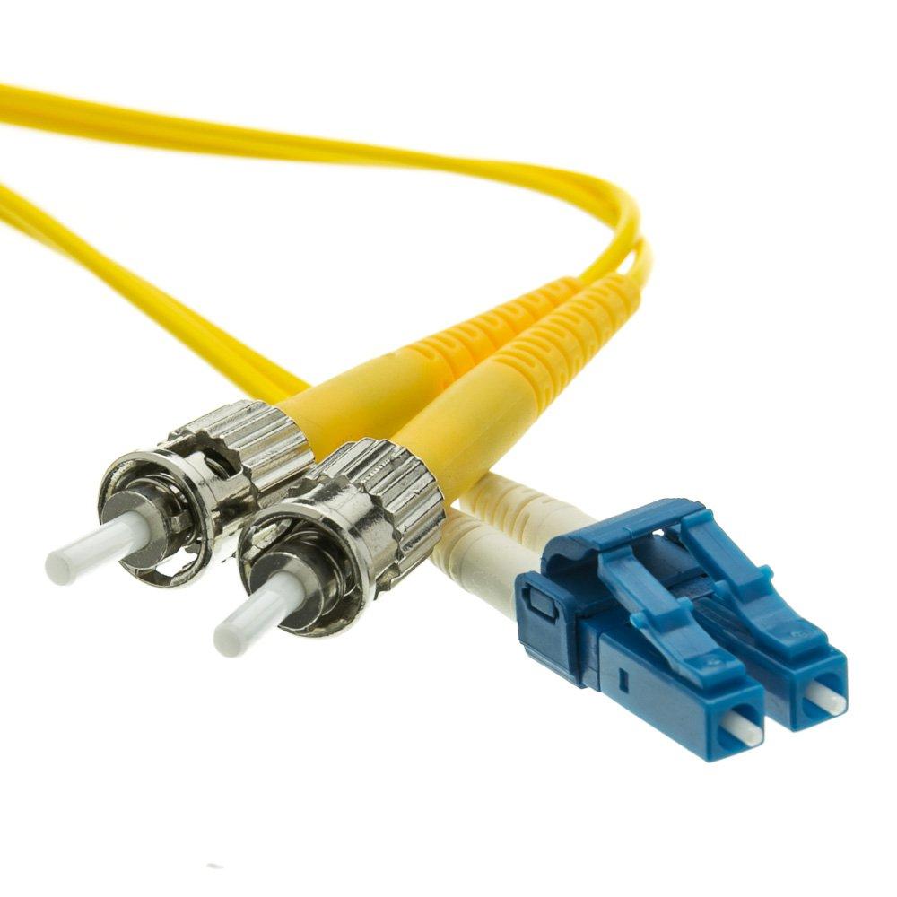 Fiber Optic Cable, LC / ST, Singlemode, Duplex, 9/125, 3 meter (10 foot)