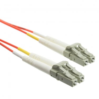 Fiber Optic Cable, LC / LC, Multimode, Duplex, 50/125, 1 meter (3.3 foot)