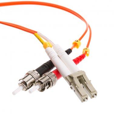 Fiber Optic Cable, LC / ST, Multimode, Duplex, 50/125, 6 meter (19.7 foot)