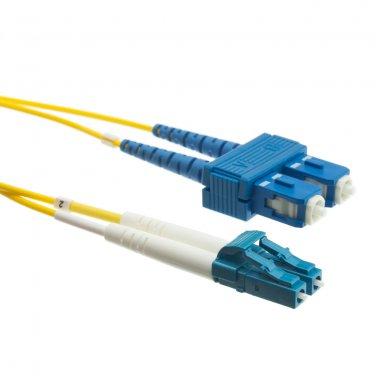Fiber Optic Cable, LC / SC, Singlemode, Duplex, 9/125, 3 meter (10 foot)