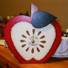 HANDCRAFTED APPLE CLOCK
