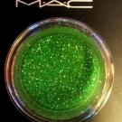 MAC Crystalled Lime Glitter Sample
