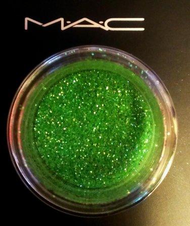 MAC Crystalled Lime Glitter Sample