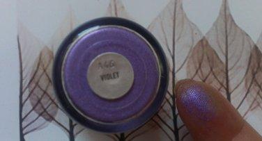 mAC Violet Pigment Sample