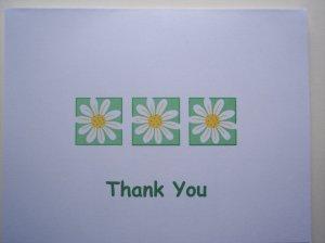 Daisy Chain Thank You Card
