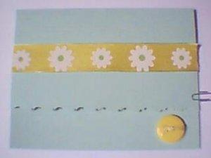 Yellow Daisy Note Card