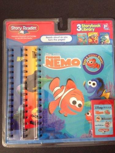 Disney Story Reader Books Amp Cartridge Finding Nemo The