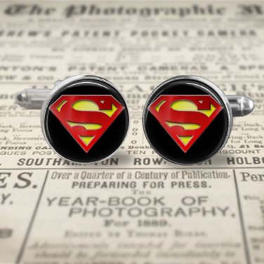 SUPERMAN SYMBOL #2 cuff links