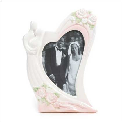 Heartfelt Wedding Photo Frame