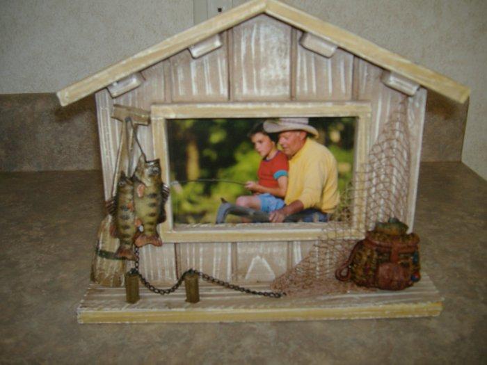 Gone Fishing Photo Frame