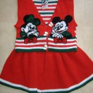 Mickey  and Minnie Girl's Outfit    Size 4T