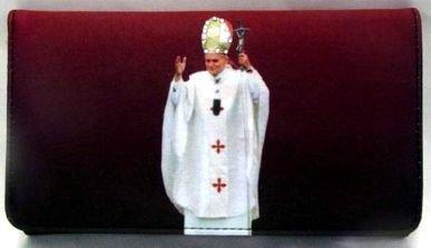 Pope Wallet w / Rhinestones
