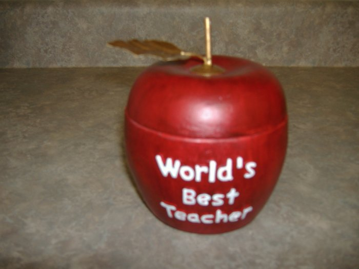 Teacher's Apple Box