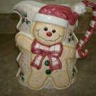 Holiday Ceramic Pitcher