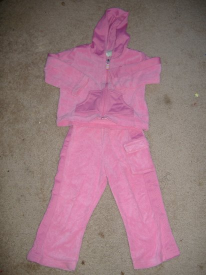 2 Pc Toddler Warm Up Set   Size 24 Months