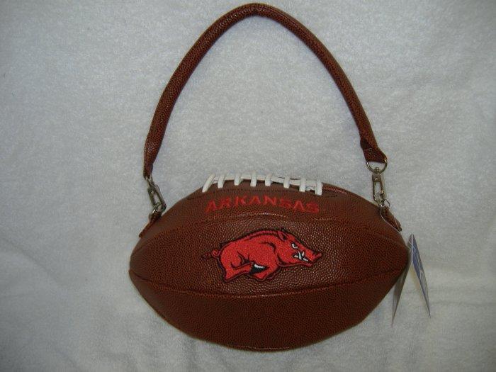 Arkansas Football Handbag