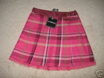Girl's Scooter Skirt w/Shorts    Size 8