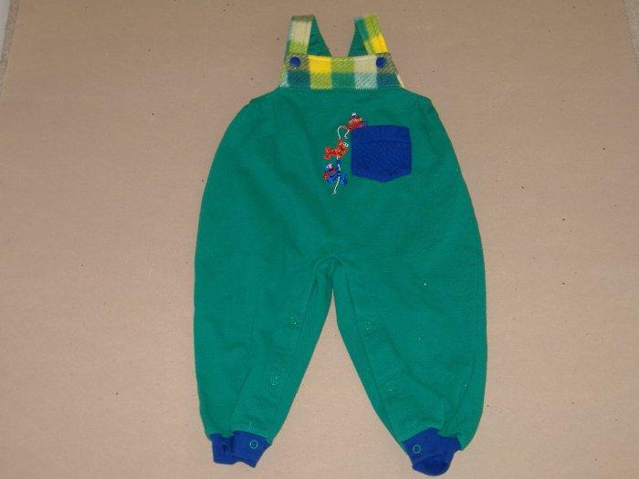 Ernie , Elmo & Grover Infant Boys Overall   Size 24 Mos