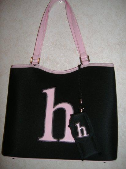 Large Intial Handbag w / Small h  New