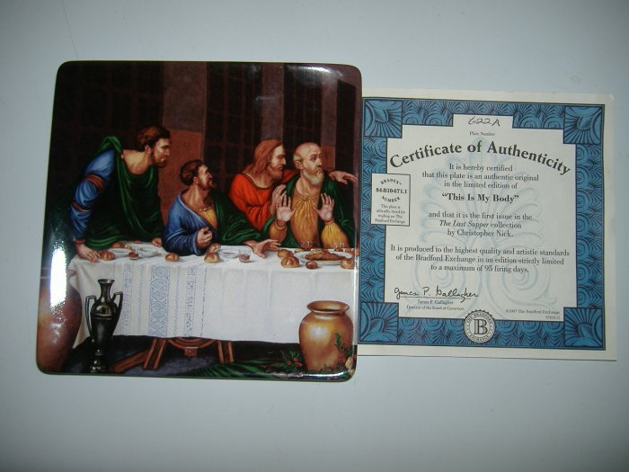 The Last Supper Collector Plate