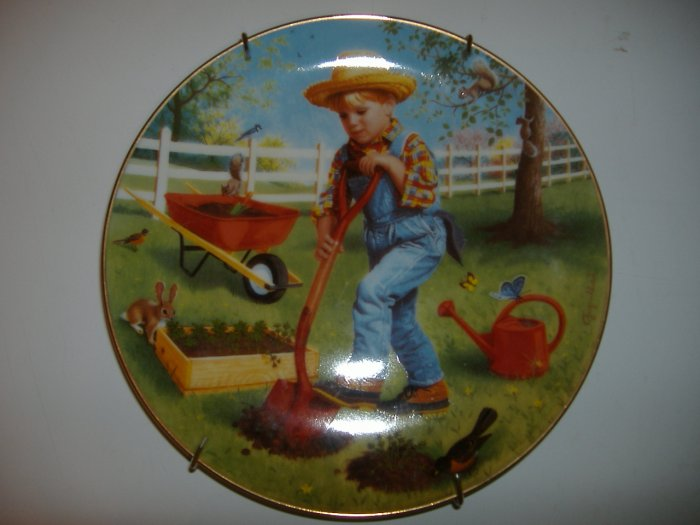 Saturday's Child 1991 Collection Plate