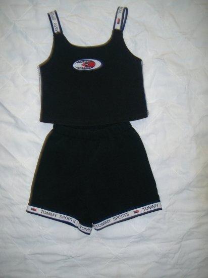 2 Pc Girls Tommy Sports Short Set Size 5 /6