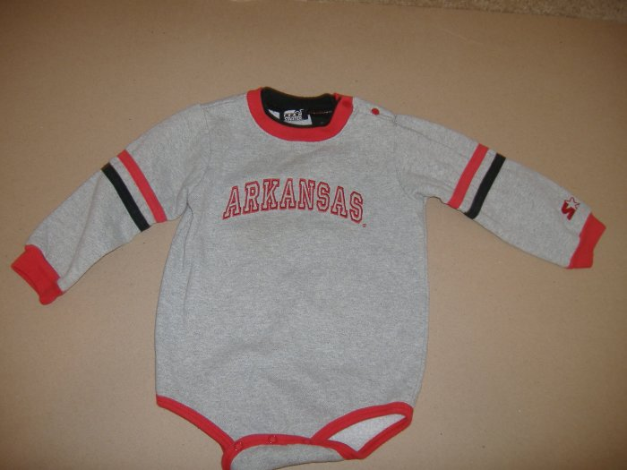 Infant  Arkansas Starter 1 Piece Outfit  Size 24 Months
