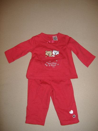2 Piece Infant Girl Outfit  Size 3/6 Months