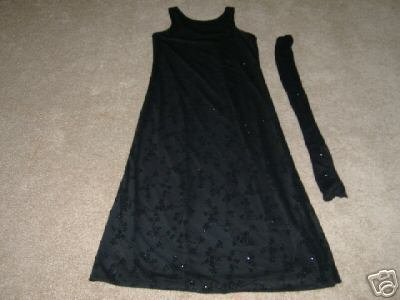 DBY Long Semi-Formal Dress Size 7/8