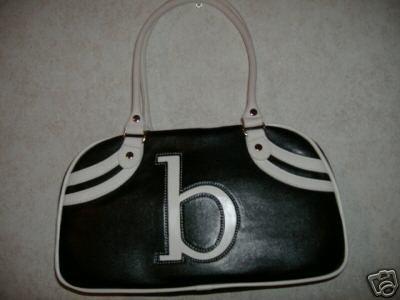 B Intial Handbag