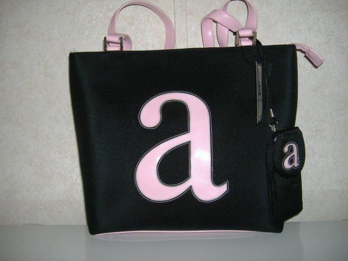 Large Intial Handbag W / Small a