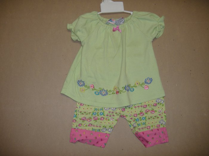 2 Peice Infant Set By Small Steps  - Size 12 Months
