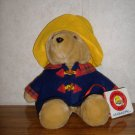 Paddington Bear In Blue Coat & Yellow Hat - Soft Stuffed Toy