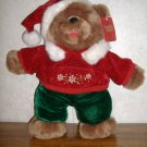 2007 Snowflake Friends Christmas Brown Bear