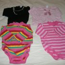 1- 4 piece Lot of Infant Girls Tops