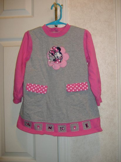 Disney Minnie Little Girls Dress - Size 4T