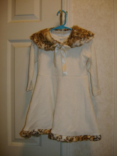 Little Girl Dress By Cachcach - Size 4T