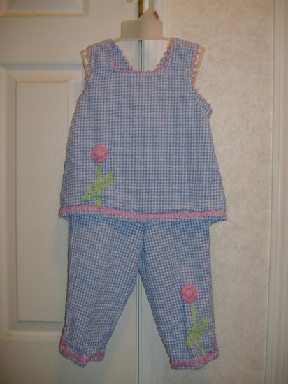Little Girls 2 Piece Set By Specialty Girl - Size 6