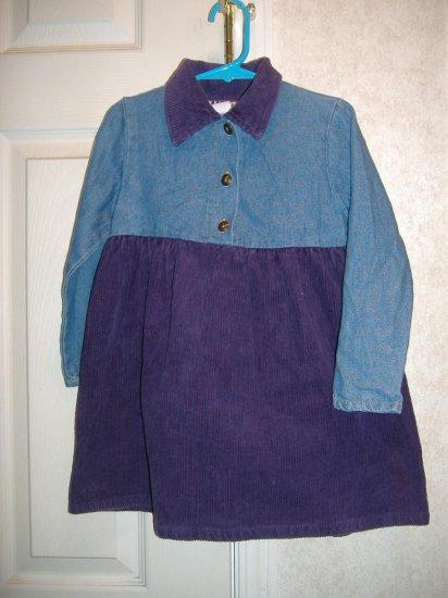 Little Girl Dress By UBU - Size 4