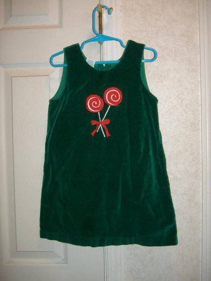 Little Girl Velvet Dress - Size 4